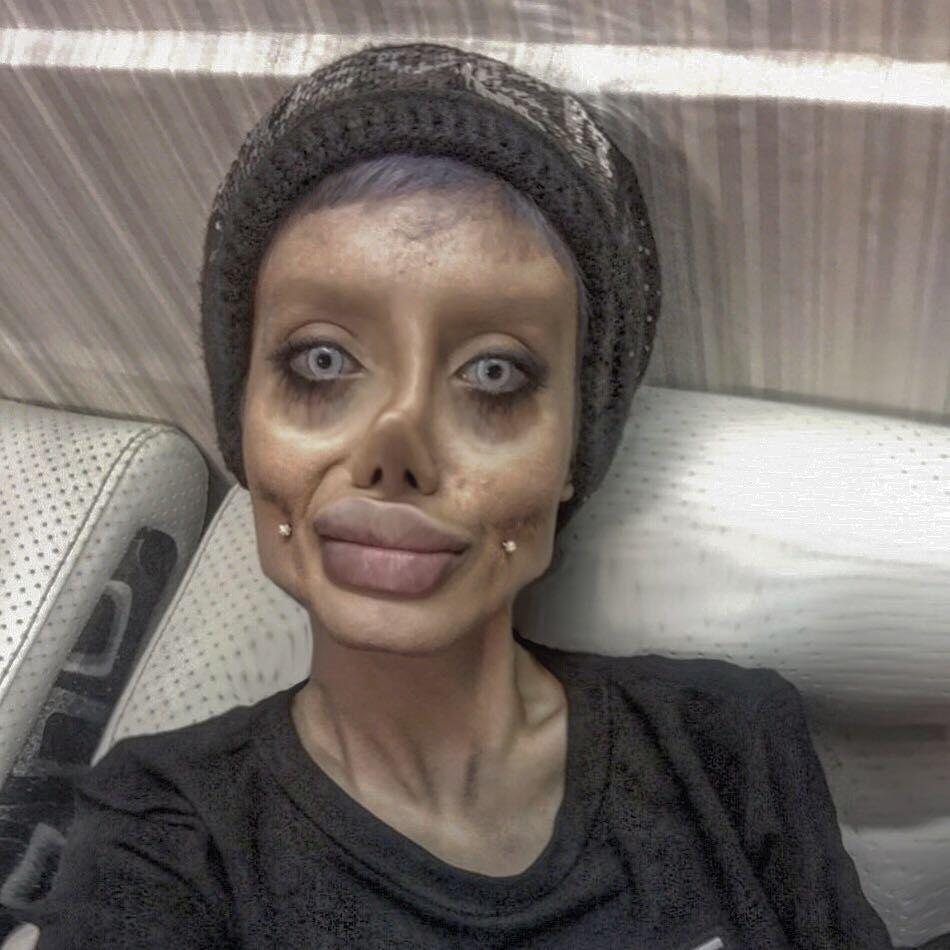 Sahar Tabar, wanita operasi mirip Jolie