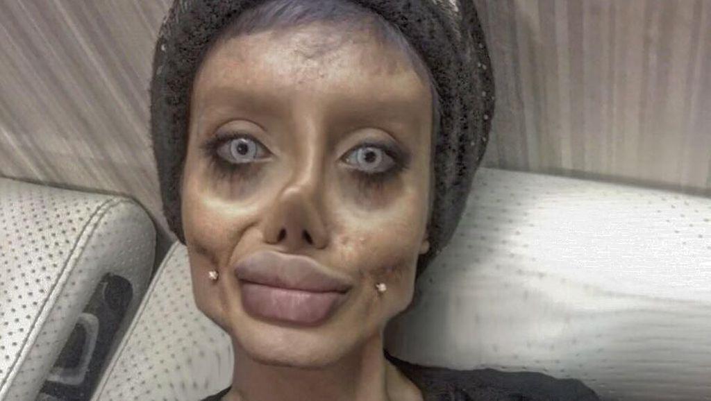 Selebgram Viral Mirip Angelina Jolie Terinfeksi Virus Corona di Penjara