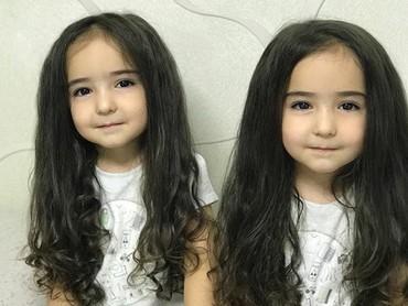 Lucu Dan Nggemesin Banget Anak Kembar Perempuan Asal Rusia Ini