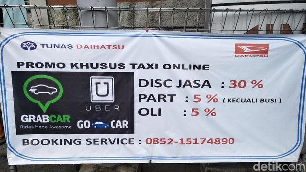Taksi Online Dapat Diskon Servis