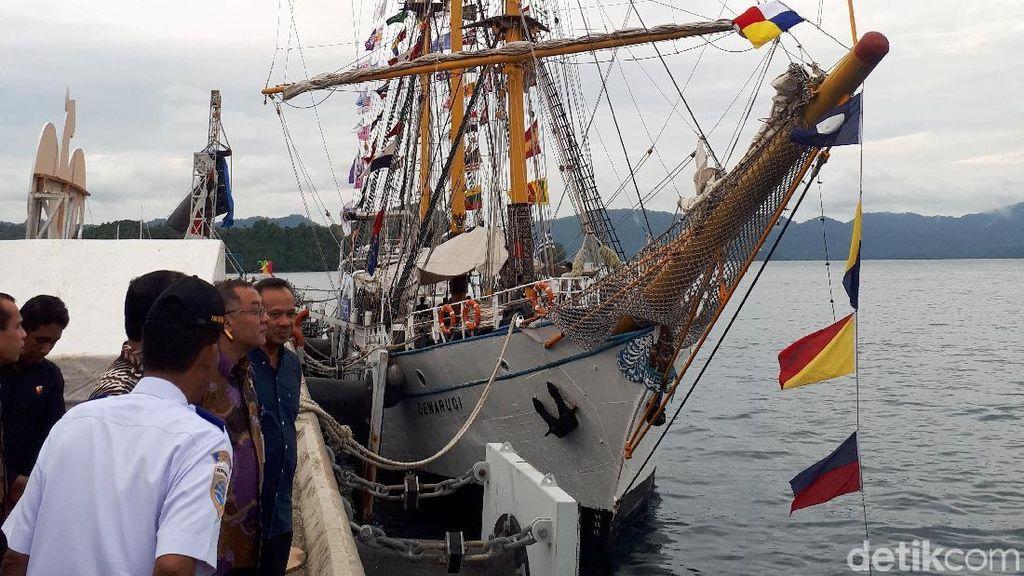 Ini Dia Kapal Dewa Ruci yang Sudah Berlayar Sejak Era Soekarno