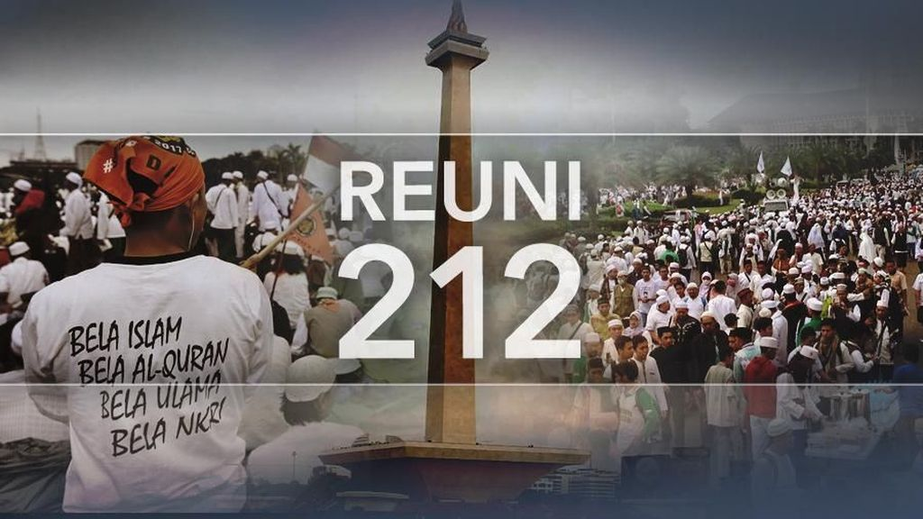 Massa Reuni 212 dari Cilegon Berangkat ke Jakarta Jelang Dini hari