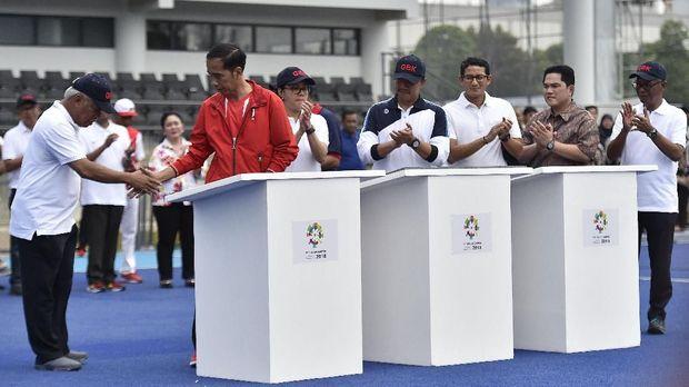 Presiden Joko Widodo pernah kunjungi latihan tim hoki Indonesia jelang Asian Games 2018.