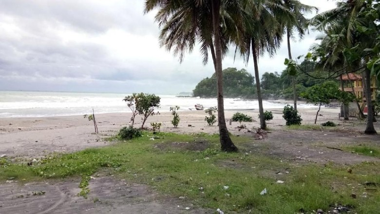 Hesa yang Terseret Ombak Pantai Karanghawu Anak Anggota Polisi