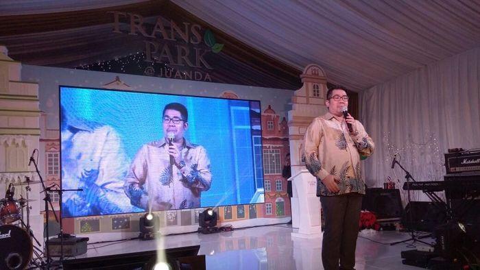 General Manager Trans Park Property, Ivan Adrian/Foto: Muhammad Idris/detikcom