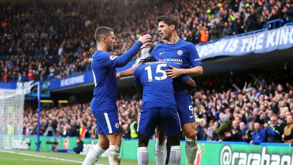 Babak I: Sempat Tertinggal, Chelsea Sementara Ungguli Newcastle