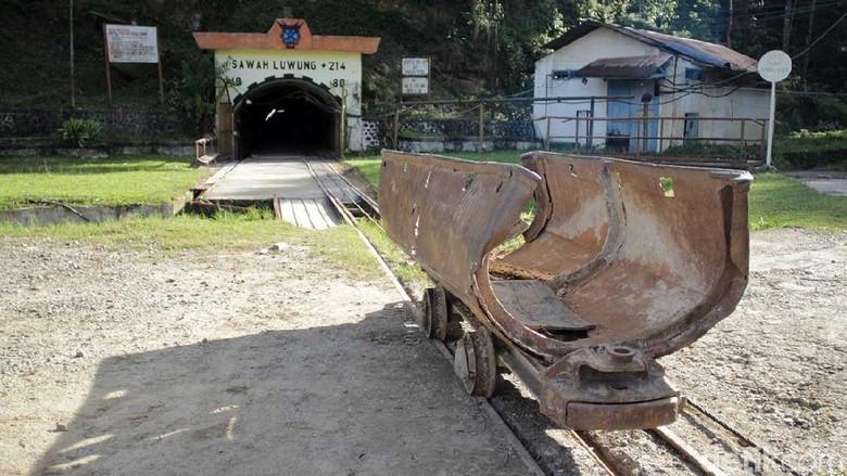 Peninggalan tambang Sawahlunto yang masih terjaga (Randy/detikTravel)