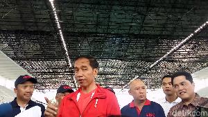 Saat Jokowi Disanggah Sandiaga soal Venue BMX Asian Games 2018