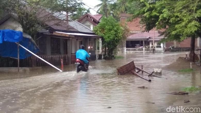 Hujan Deras Guyur Aceh Utara, Warga Was-Was Banjir Susulan Datang