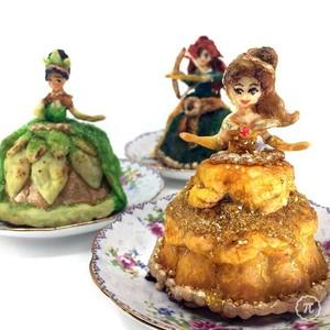 Cantiknya Pie Berbentuk Putri Disney, Bikin Tak Tega Menyantapnya