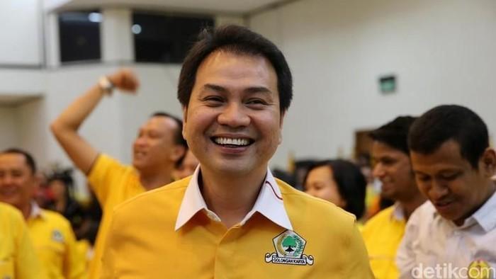 Azis Syamsuddin. (Foto: Ari Saputra/detikcom).