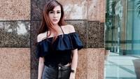 Vicy Melanie kerap mengunggah foto cantiknya di Instagram. Foto: Instagram/vicymelanie