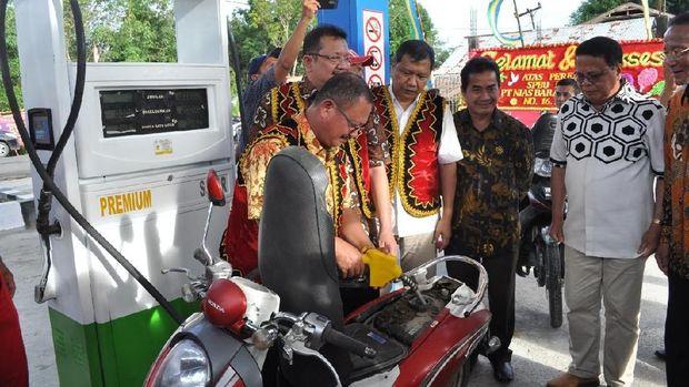 Warga Nias Barat Kini Dapatkan Harga BBM Sama Seperti di Jawa.