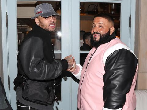 Chris Brown dan DJ Khaled.