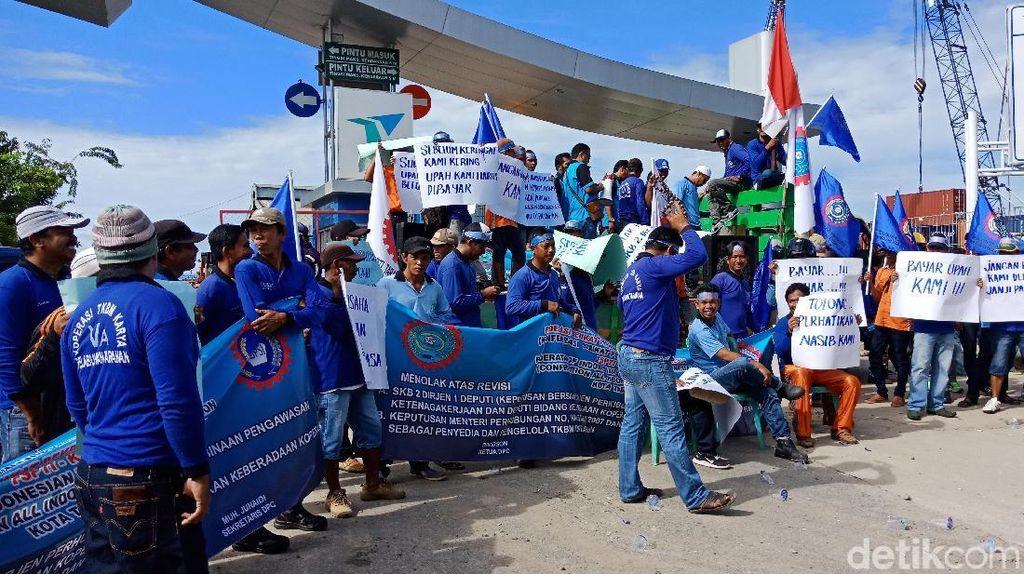 Sempat Demo, Buruh Pelabuhan Tarakan Akhinya Terima Upah