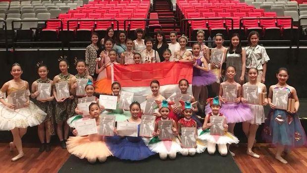 Marlupi Dance Academy Indonesia Sabet Juara di Malaysia