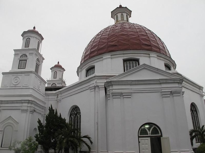 Kota Lama Semarang Terus Ditata Demi Status Warisan Budaya Dunia