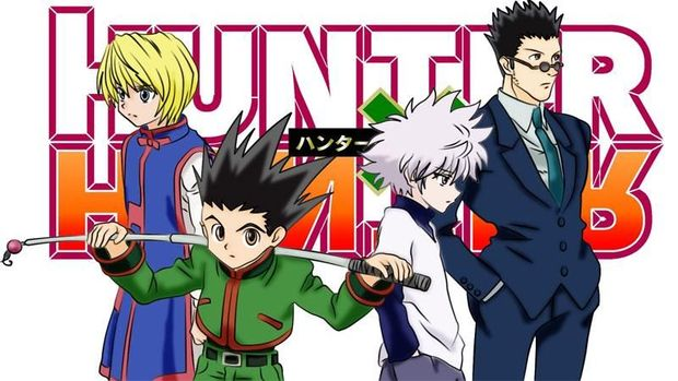 Manga 'Hunter x Hunter'