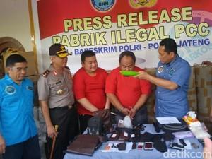 Duh, Bos Pabrik PCC di Semarang dan Solo Racik Obatnya dengan Ngawur