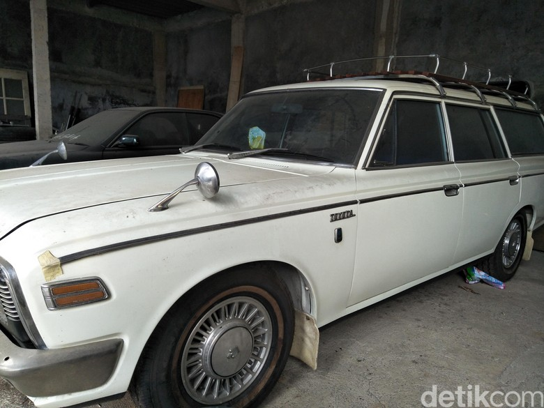 Toyota Crown Eight 1957. Foto: Ruly Kurniawan