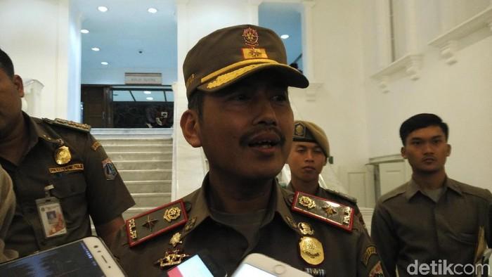 Kepala Satpol PP DKI Jakarta Yani Wahyu Foto: Muhammad Fida-detikcom
