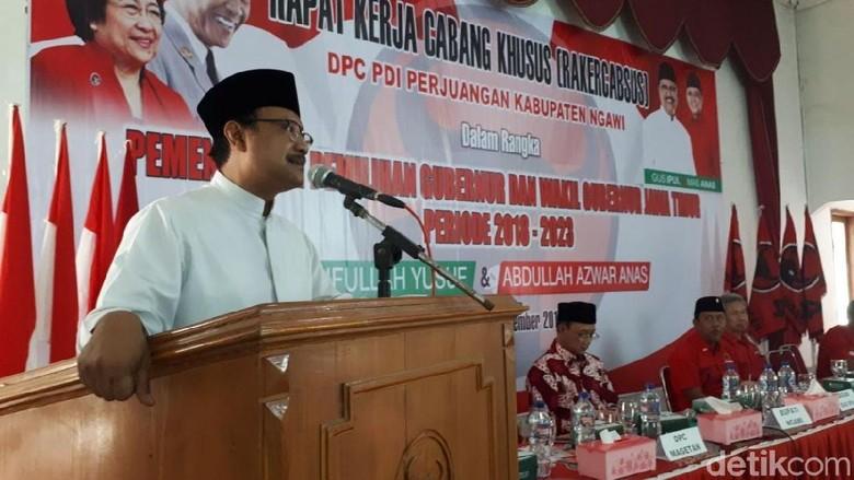PDIP Ngawi Siap Menangkan Gus Ipul-Anas