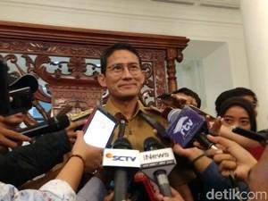 Sandiaga Nilai Sosialisasi Vaksin Difteri di Jakarta Kurang Gencar