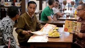 Berbagai Hal yang Dilakukan Jokowi Saat Nge-Mall