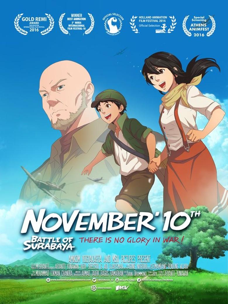 Bangga! Film Animasi Battle of Surabaya Raih Penghargaan di Milan