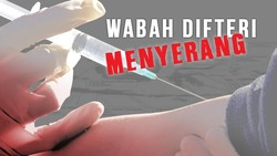 Kemenkes Sebut 66 Persen Kasus Difteri Akibat Tak Diimunisasi