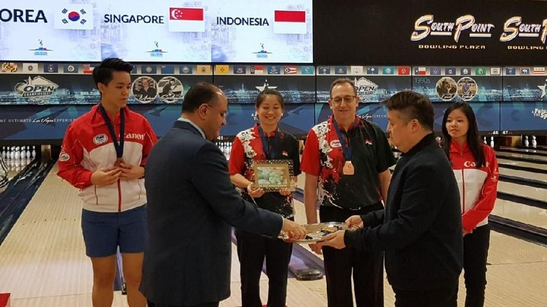 Indonesia Raih Perunggu Kedua di Kejuaraan Dunia Boling