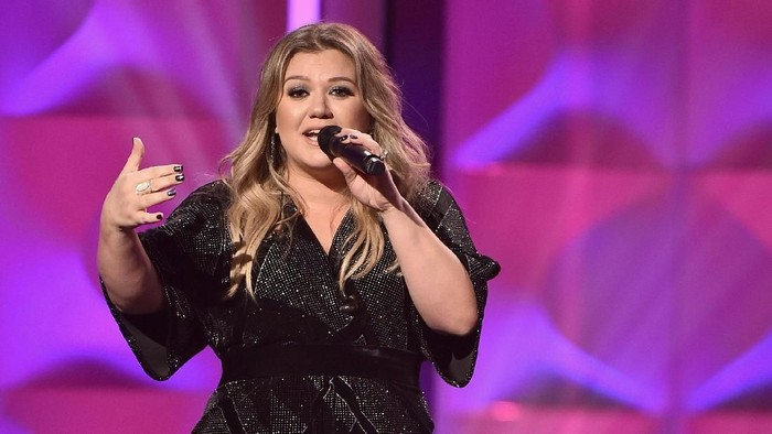 Kelly Clarkson mengidap usus buntu. Foto: Getty Images