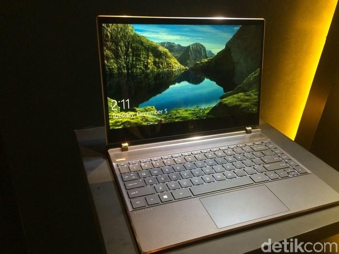 Laptop HP Spectre 13. Foto: detikcom