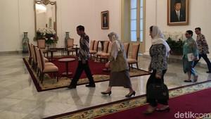 Ibu Negara Afghanistan Temui Jokowi di Istana Bogor