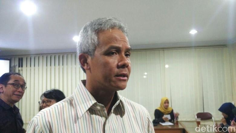 Kata Ganjar soal Tudingan KPK Sengaja Hilangkan Nama Politikus PDIP