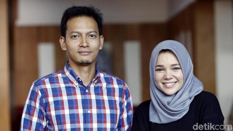 Pemeran Ayat-ayat Cinta 2 Fedi Nuril dan Dewi Sandra (Foto: Asep Syaifullah)