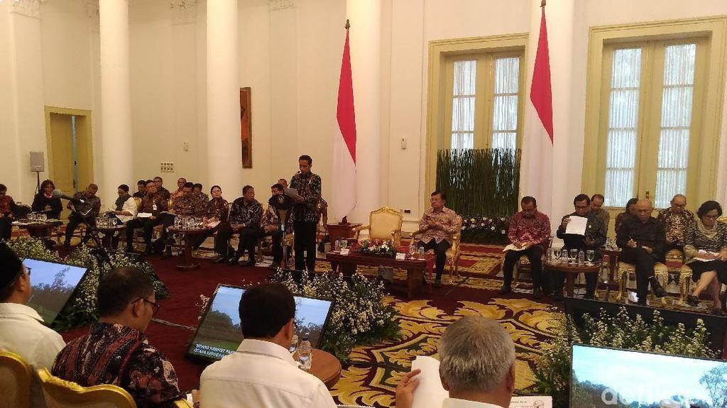 Deretan Menteri Ini Dapat Tugas Khusus dari Jokowi untuk 2018