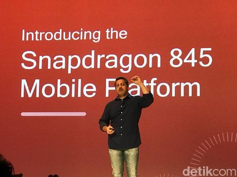 Snapdragon 845 Resmi Diumumkan