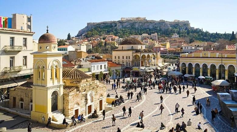 Ilustrasi Kota Athena (Dok. BBC Travel)