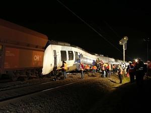 2 Kereta di Jerman Tabrakan, 50 Orang Luka-luka