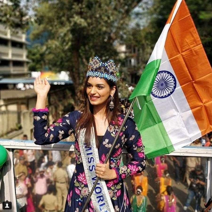 Manushi Chhillar, Calon Dokter Cantik dan Juara Miss World 2017