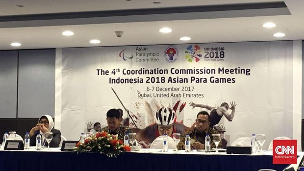 Asian Paragames akan digelar pada October 2018.