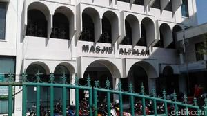 Pria Berbaju Loreng yang Bobol Kotak Amal Masjid Ditangkap