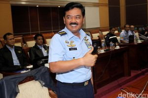 Komisi I DPR Setuju Marsekal Hadi Jadi Panglima TNI