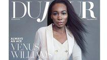 Mewah! Gaya Miliaran Venus Williams di Cover Majalah
