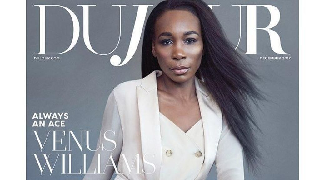 Mewah! Gaya Miliaran Venus Williams di Cover Majalah