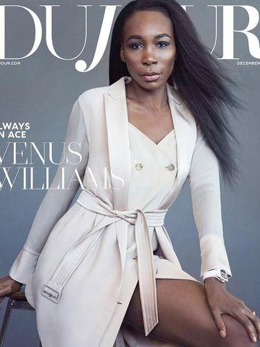 Venus Williams di sampul majalah DuJour.