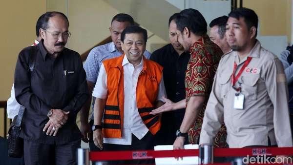 Surat Dakwaan Setya Novanto Sudah Siap, KPK Tunggu Jadwal Sidang