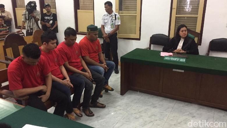 6 Jaringan Penyelundup Sabu di Medan Divonis 16 hingga 20 Tahun Bui