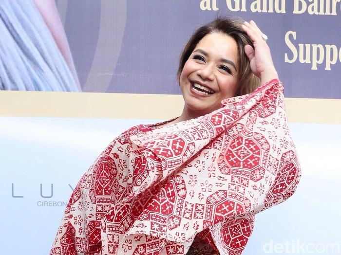 Ruth Sahanaya saat ditemui di kawasan Senopati.